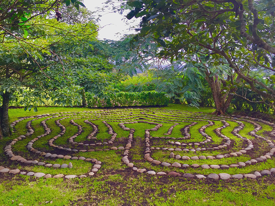meditation labyrinth costa rica