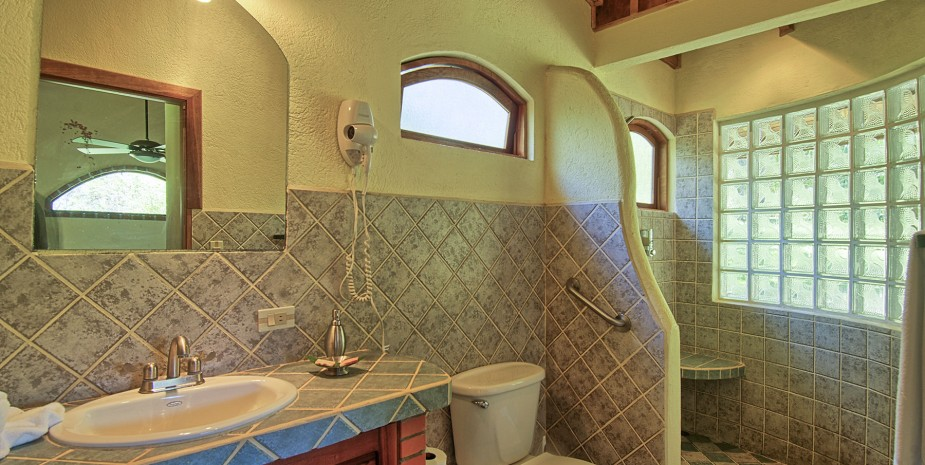 Bathroom of the Private Villa