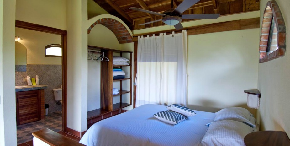 Sleeping area of the Private Villa